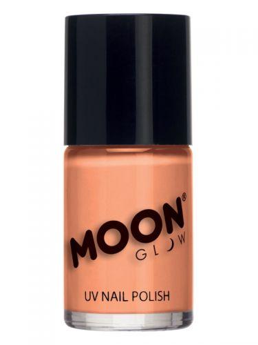 Moon Glow Pastel Neon UV Nail Polish, Orange