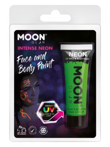 Moon Glow Intense Neon UV Face Paint, Green