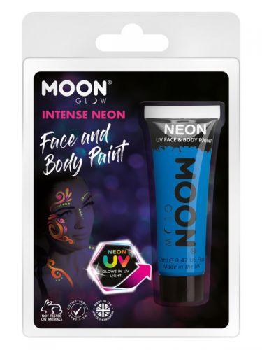 Moon Glow Intense Neon UV Face Paint, Blue
