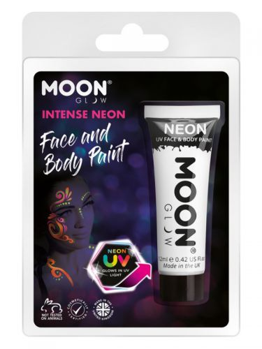 Moon Glow Intense Neon UV Face Paint, White