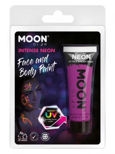 Moon Glow Intense Neon UV Face Paint, Purple
