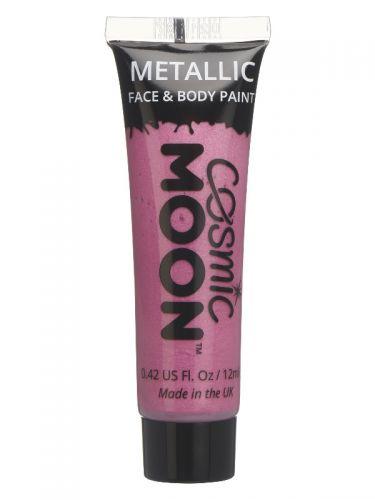 Cosmic Moon Metallic Face & Body Paint, Pink