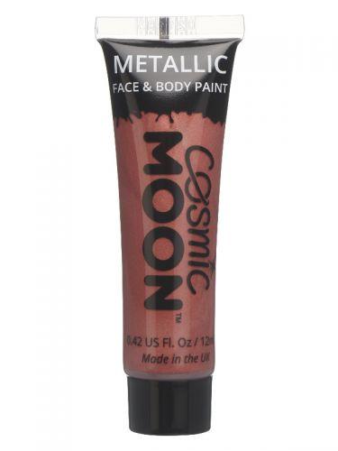 Cosmic Moon Metallic Face & Body Paint, Red