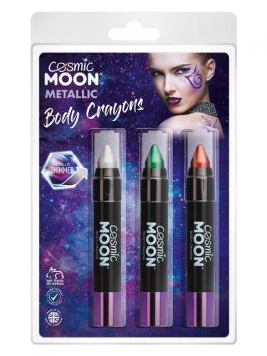 Cosmic Moon Metallic Body Crayons,