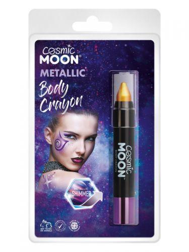 Cosmic Moon Metallic Body Crayons, Gold