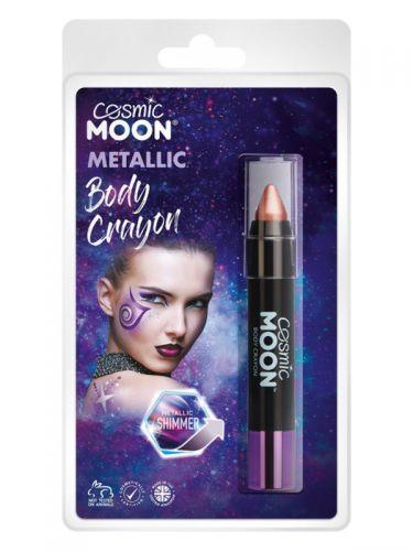 Cosmic Moon Metallic Body Crayons, Rose Gold