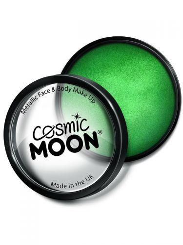 Cosmic Moon Metallic Pro Face Paint Cake Pots, Gre