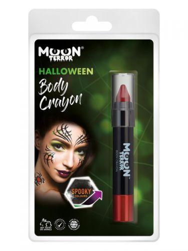 Moon Terror Halloween Body Crayon, Red
