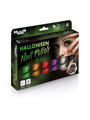 Moon Terror Halloween Nail Polish, Assorted