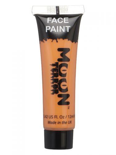 Moon Terror Halloween Face & Body Paint, Orange
