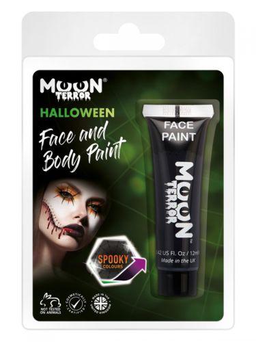 Moon Terror Haloween Face & Body Paint, Black