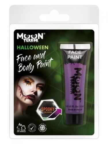Moon Terror Halloween Face & Body Paint, Purple