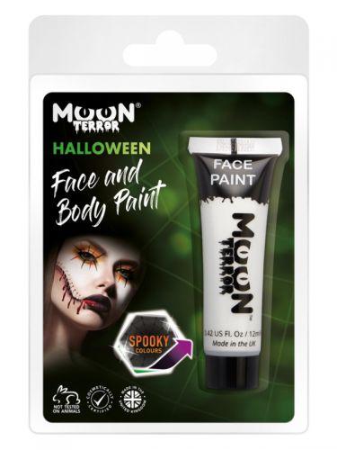 Moon Terror Halloween Face & Body Paint, White
