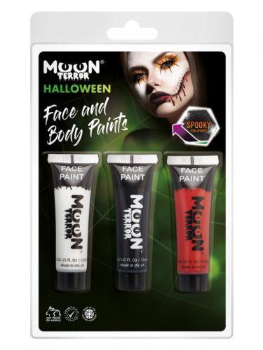 Moon Terror Halloween Face & Body Paint,